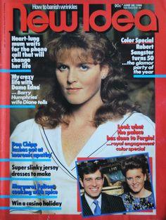NEW IDEA 28 JUNE 1986 PRINCESS TO BE SARAH FERGUSON aka FERGIE