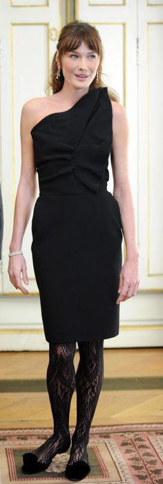 Carla Bruni: First Lady Dressing Was Actually A Pleasure (PHOTOS)