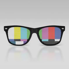 Test pattern wayfarers (I know, I know, I'm a total hipster)