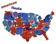 Fiesta Dinnerware ~ Made in the USA since 1936!