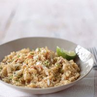 crab risotto with chilli and lime more rich risotto crab risotto ...