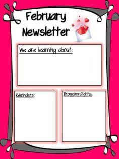 Teachers Pay Newsletter Template on free preschool, owl theme, for first grade,