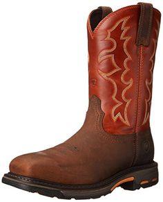 Ariat Men's Workhog Steel Toe Work Boot - http://bootsportal.net/ariat-mens-workhog-steel-toe-work-boot/