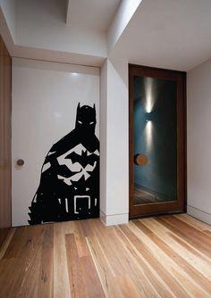 Giant Dark Batman Ink Comic Wall Art Sticker by HallofHeroes