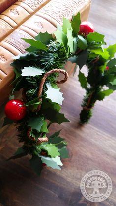 Christmas Holly Headband by Corinne Jade