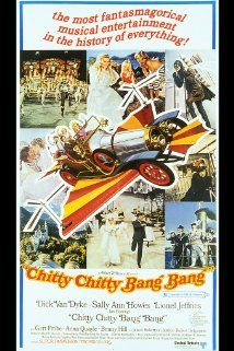 Chitty Chitty Bang Bang (1968).   A hapless inventor finally finds success with a flying car, which a dictator from a foreign government sets out to take for himself. Director: Ken Hughes