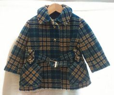 Manteau fille vintage par Jeanneetlouis sur Etsy