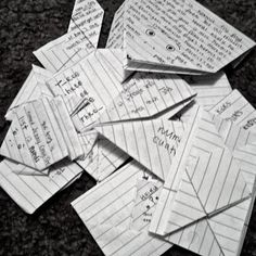 8 ways to fold notes and letters