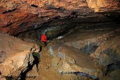 Mining cave at Zugo, Kavala, Greece