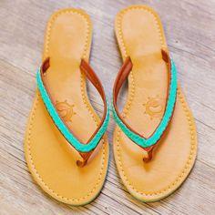 La Vida Loca Sandals - Teal #Fashion #style #cute #flipflops #trendy #beach #sandals #Spring #ShopPriceless