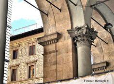 Firenze, Piazza del Mercato Nuovo, loggia