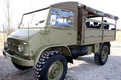 Unimog 404 - 1962 Swiss