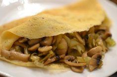 Omeleta se žampiony a pórkem | Recepty | KetoDiet CZ