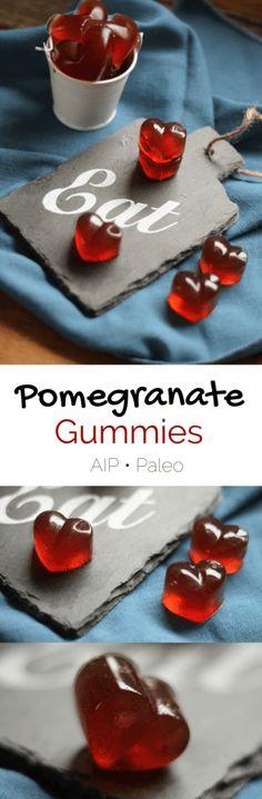 Pomegranate Gummies (AIP, Paleo)