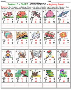 Links to phonics and sight word worksheets for all grade levels and everything is FREE!