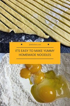 It's Easy To Make Yummy Homemade Noodles - GB's Kitchen