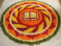Worlds Largest collection of Pookalams (Flower Carpet): July 2013 Onam Images, Onam Pookalam Design, Onam Wishes, Happy Onam, Kerala Tourism, Worlds Largest, Carpet, Cartoon, Gallery