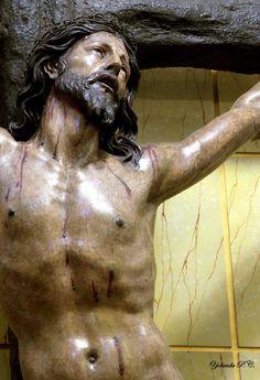 """Juan Sánchez Barba (1602 - 1673), """"Cristo de la Agonía"""" Real Oratorio del Caballero de Gracia de Madrid,1650"""