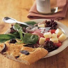 Fresh Fig Focaccia by Cooking Light