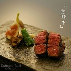 Kumano-Beef  #japanesecuisine #japanesebeef #beef #washoku #kaiseki #japan #japanesefood #kumanobeef #yum #yummy #delicious #buono #oishii #foodphotography #foodblogger #foodporn #foodpics #foodstagram #foodstyling #foodart #food #chef #beautiful #gastronomy #hungry #instagood #instafood #canon #mouthwatering #itadakimasu by hirotoakama