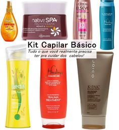 kit capilar básico http://jurovalendo.com.br/2014/01/29/kit-basico-para-cabelos-o-que-voce-realmente-precisa/