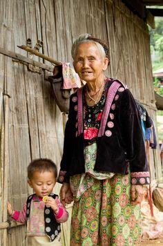 Generations . Black Hmong Village . Thailand