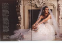 Divine Atelier-Beau Monde 4/2014          #collection #wedding #bride #dress