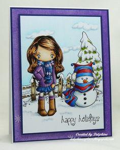 Delphine's place: Résultats de recherche pour winter Colouring: Copics on Make It Colour Blending Card Copics used for Saffron: B21, 23, 24, 26, 29, BG000, 000, C0, 1, 3, 5, 7, E000, 00, 02, 11, R35, 37, 39, W0, 1, 3