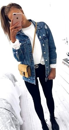 30 Cute and Casual Winter Outfit Ideas for School Fashion casual Cute School O Athleisure Outfits Casual Cute fashion Ideas Outfit School winter Winter Outfits For Teen Girls, Winter Outfits For School, Casual School Outfits, Teenage Outfits, Cute Teen Outfits, Casual Winter Outfits, Winter Fashion Outfits, Trendy Outfits, Fall Outfits