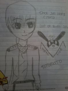 My 1st FanArt by mee