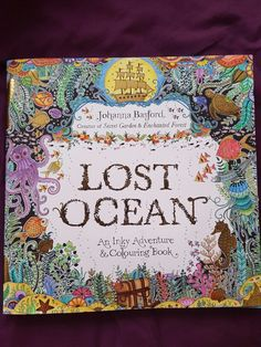 Lost Ocean Johanna Basford cover