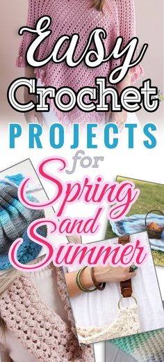 Are you looking for a great, free, & easy crochet projects for spring? You may think that crochet and knitting projects are less popular in these warmer seasons but spring and summer months are the best time for crochet and yarn arts' enthusiasts - all yarn is on sale! #freecrochetpatterns #easycrochet #learntocrochet