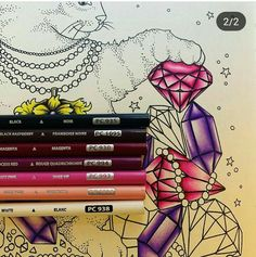 Blending Colored Pencils, Colored Pencil Artwork, Color Pencil Art, Color Blending, Colored Pencil Tutorial, Colored Pencil Techniques, Adult Coloring Pages, Coloring Books, Coloring Tips