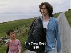 Rory and young Prentice. The Crow Road. Never, in the history of humankind has there been hair of equal volume and quantity, that has looked so amazing. I mean, the curls at the back....people would pay good money to get that look with hair extensions!!
