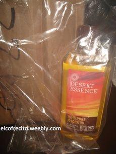 Aceite de jojoba para piel y cabello seco