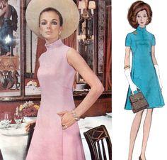 1960s MOLYNEUX Vogue Paris Original 2206 by laughingduckvintage