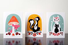 Marionette and Little Wonders Greeting Cards and Tableware for Kids by Darling Clementine - WhatWeDo Copenhagen