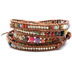 Multi-Wrap Bracelet (via #spinpicks)
