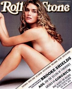 Brooke Shields on the October 3, 1996 cover.