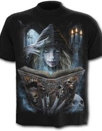 T-shirt gothique SPIRAL 'book of flesh' 20€  Discobole