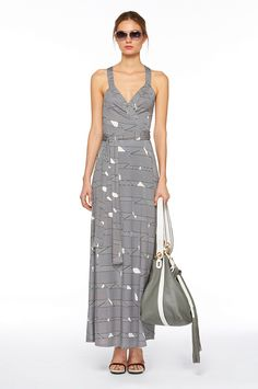 More casual wrap dress by DVF.