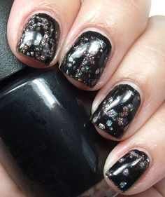 Another shot of OPI Spotted shown here over Color Club Sugar Plum Fairy
