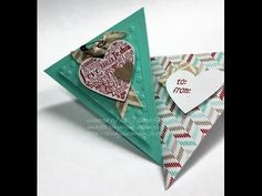 @: Triangle Card and Envelope with Kelly