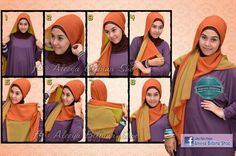 Two Tone Pashmina (but not covering a chest)