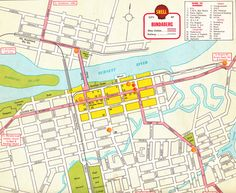 Map of Gosford NSW c1950s Maps Pinterest Family history