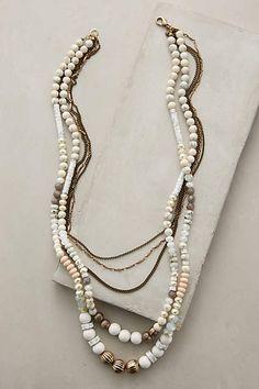 Layered Hemisphere Necklace - anthropologie.com