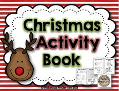 Christmas Activity Book Freebie and Other Ideas to Fill Your Week!