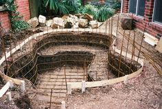 In Ground Hot Tub Kits | Vacation in My Own Back Yard, Custom in-ground hot tub for super ...