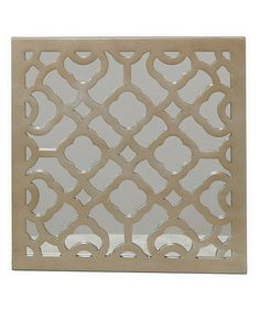 Another great find on #zulily! Champagne Vintage Geometric Wall Art #zulilyfinds