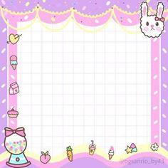 Rainbow Aesthetic, Pink Aesthetic, Kawaii Wallpaper, Wallpaper Iphone Cute, Logo Online Shop, Cupcake Quotes, Candy Logo, Kawaii Background, Memo Notepad